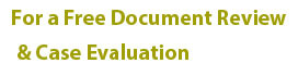 Free Document Review & Case Evaluation